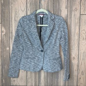Heathered gray Merona blazer